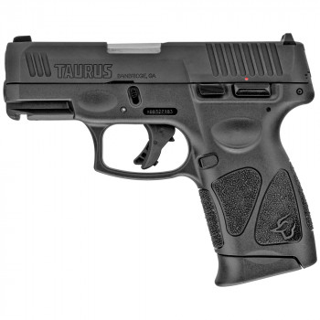 "TAURUS G3C 9MM 3.26"" BLK AS 12RD"