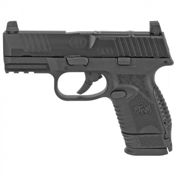 "FN 509 COMPACT MRD 3.7"" 9MM 10RD BLK"